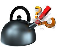 Abstract Teapot Royalty Free Stock Images
