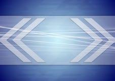 Abstract tech arrows design Royalty Free Stock Photography