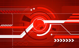 Abstract tech background Royalty Free Stock Images