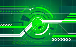 Abstract tech background Stock Photo