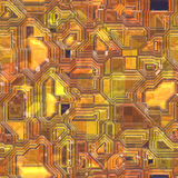 Abstract tech background. Abstract high tech circuitry background wallpaper illustration Stock Photo