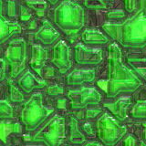 Abstract tech background. Abstract high tech circuitry background wallpaper illustration Royalty Free Stock Photos