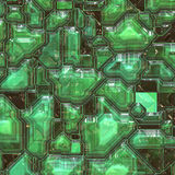 Abstract tech background Royalty Free Stock Photos
