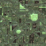 Abstract tech background. Abstract high tech circuitry background wallpaper illustration Royalty Free Stock Images