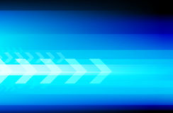 Abstract tech background with arrows. This is file of EPS10 format Royalty Free Stock Photo