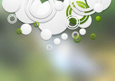 Abstract tech background Stock Images
