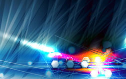 Abstract tech background. Futuristic technology interface. Vecto Royalty Free Stock Photo