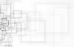 Abstract tech background. Futuristic technology interface. Vecto Stock Photography