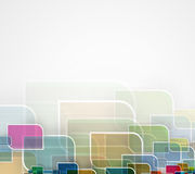 Abstract tech background. Futuristic technology interface. Stock Image