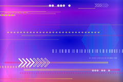 Abstract tech background with geometric shapes. Stock Photography