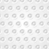 Abstract tech background, grey circles texture Stock Photo