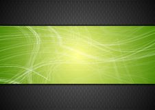 Abstract tech background with lines Stock Images