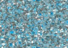 Abstract tech background Stock Photos