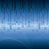 Abstract tech binary background Royalty Free Stock Photos