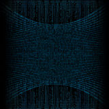 Abstract tech binary background Stock Images