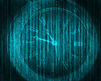 Abstract tech binary background Royalty Free Stock Photo