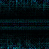 Abstract tech binary background Stock Image