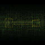 Abstract tech binary security green background Royalty Free Stock Photo