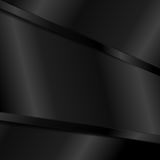 Abstract tech black glossy stripes background Royalty Free Stock Image
