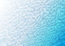 Abstract tech polygonal background Royalty Free Stock Image