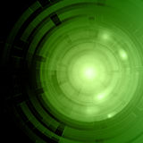 Abstract tech circles background Royalty Free Stock Photo