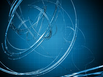 Abstract tech design Royalty Free Stock Images