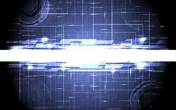 Abstract tech design Stock Image