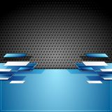 Abstract tech geometric corporate background Royalty Free Stock Photo