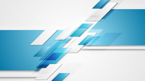 Abstract tech geometric corporate video animation. Two colors stock video
