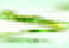 Abstract tech green striped background Royalty Free Stock Photography