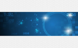Abstract tech innovation concept template background banner Stock Images