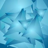 Abstract tech polygonal background Royalty Free Stock Images
