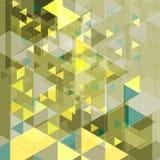 Abstract tech retro geometric background Royalty Free Stock Photos