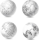 Abstract tech spheres Royalty Free Stock Photos