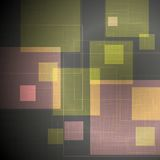 Abstract tech squares vector design Stock Photos