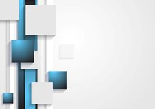 Abstract tech vector concept background Royalty Free Stock Photo
