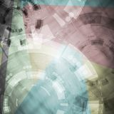 Abstract tech vector design Royalty Free Stock Photography