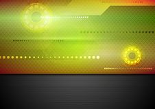 Abstract tech vibrant corporate background Stock Images