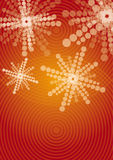 Abstract techical background. Modern abstract techical background - vector illustration Royalty Free Stock Photography