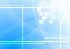 Abstract technical background vector illustration
