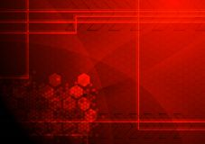 Abstract technical background Stock Images