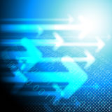 Abstract technical background Royalty Free Stock Images
