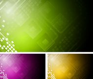 Abstract technical design Royalty Free Stock Photography