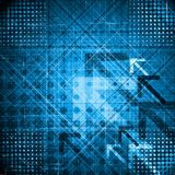 Abstract technical illustration Stock Image
