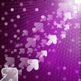 Abstract techno background. royalty free stock photo