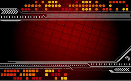 Abstract techno background. Vector illustration Stock Images