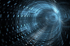 Abstract techno background Stock Images