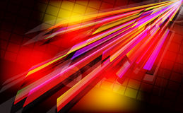 Abstract techno  background  with light effect. Royalty Free Stock Image