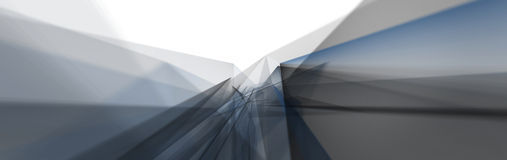 Abstract techno background of  triangles Stock Photo