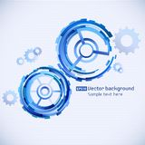 Abstract techno background Stock Photography